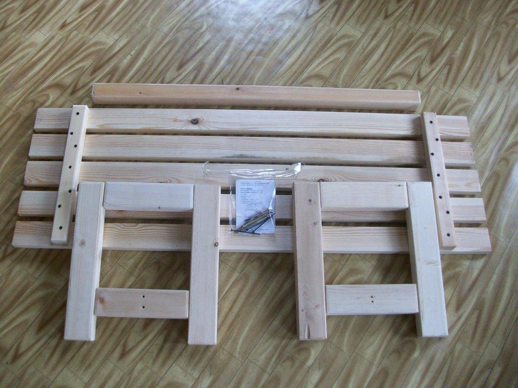 Изготовление скамейки для бани своими руками 47
