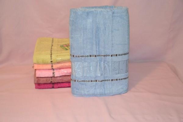 Банное бамбуковое полотенце