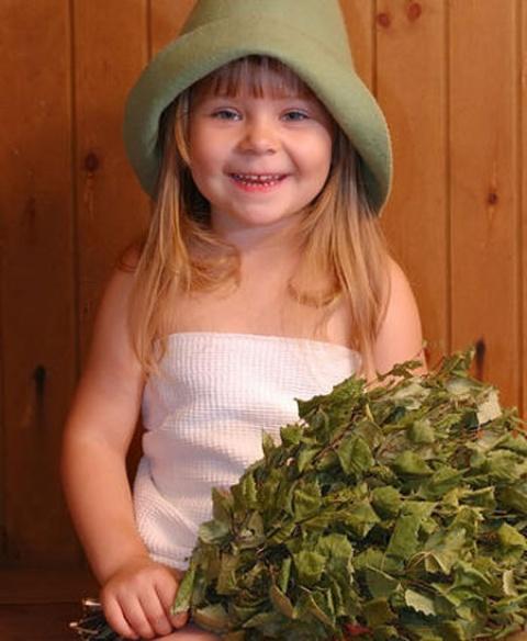 Баня детям должна приносить только радость.