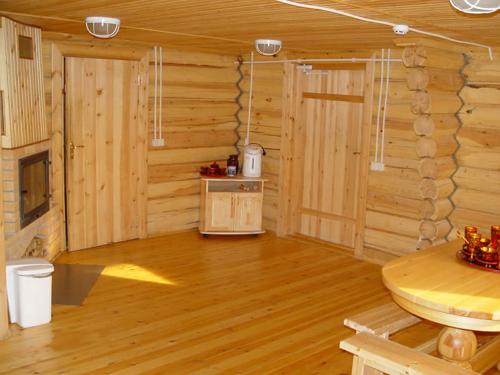 Деревянный пол – залог отличной атмосферы