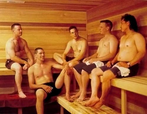 Для спортсменов баня весьма полезна