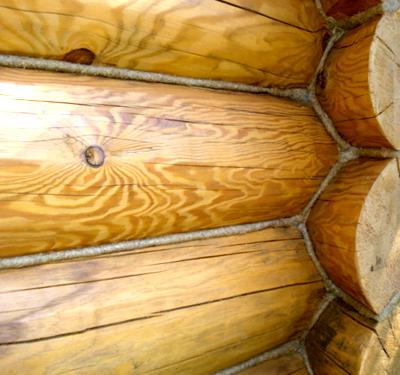 Дополнительная забивка стыков применялась еще в древние времена и являлась единственным видом утепления