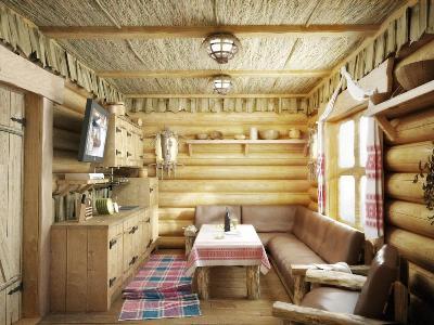 Довольно-таки уютная комната отдыха