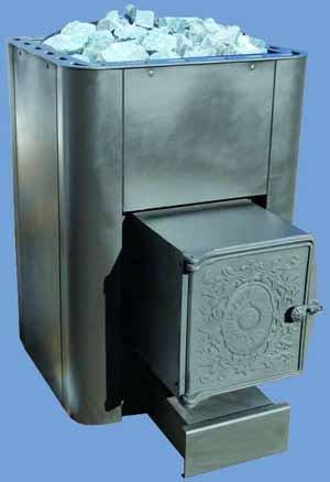 Дровяная каменка для сауны – один из лучших компактных промышленных образцов из металла