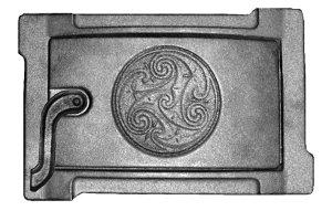Дверца с узорчатым орнаментом