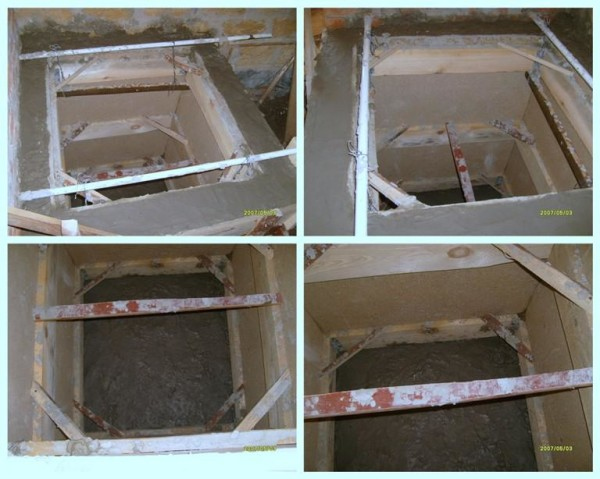 Этапы работы с бетоном