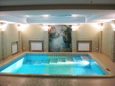 Фото: дизайн-проект интерьера бассейна