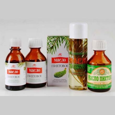 Фото пихтового масла для банных ингаляций и растираний при бронхите.