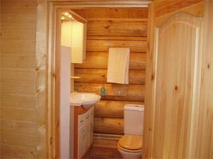 Фото санузла в бане