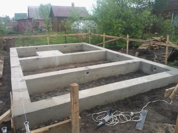Готовая бетонная конструкция