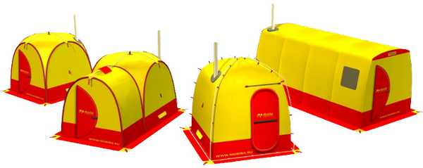 Готовая палатка для походной бани – выбор любителей попариться на природе