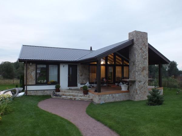 Готовый дом-сауна