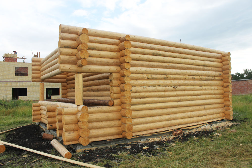 Как сделать деревянный сруб для дома 77