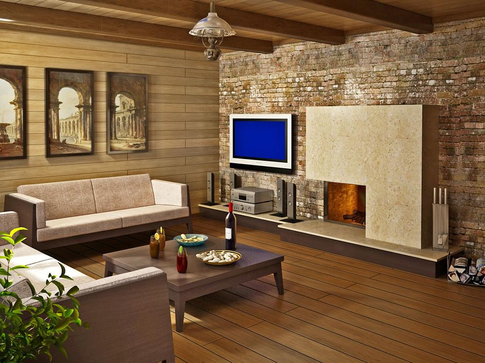 Фото интерьер комнаты отдыха бани