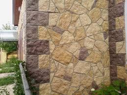 Искусственный камень сделает вашу баню похожей на средневековый замок.