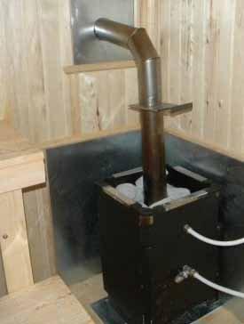 Какого бы размера сделанная своими руками баня не была, в ней всегда должно найтись место для котла или печки