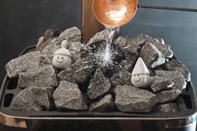 Камни для бани: фото