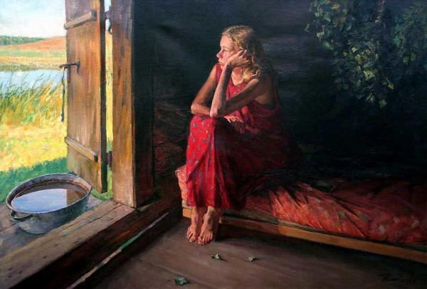 Картина Чайникова Г.Л. « В бане».