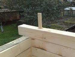 Строительство бани с мансардой своими руками