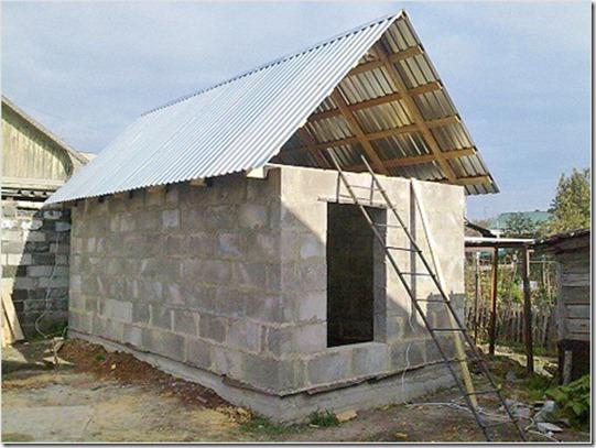 Крыша – еще один ответственный этап возведения новой бани