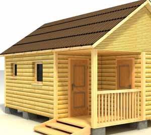 Лучше решение вопроса, как из сарая сделать баню, осуществить кардинально – построить баню с хозяйственным помещением заново