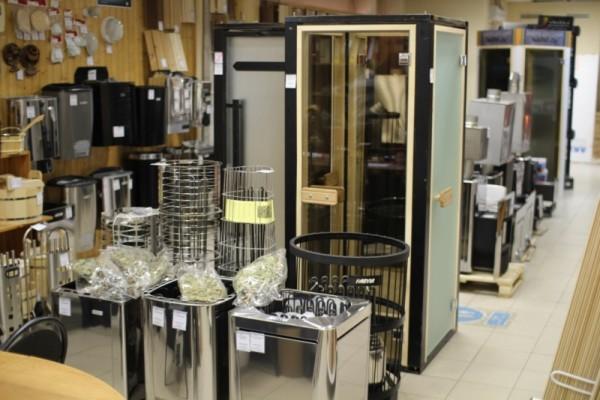 Любительское фото специализированного оборудования, которое используют при создании бани