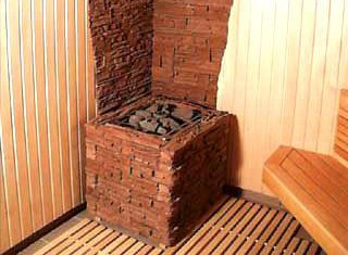 Любительское фото защитного экрана предназначенного для отвода жара от деревянных поверхностей