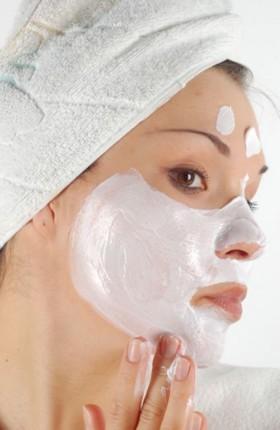 Масочка для очищения лица в бане