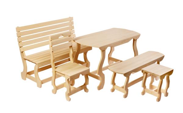 Мебель тоже должна сочетаться с общим стилем.