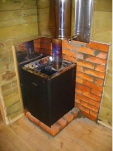 Металлическую печь мало собрать, ее необходимо также правильно установить.