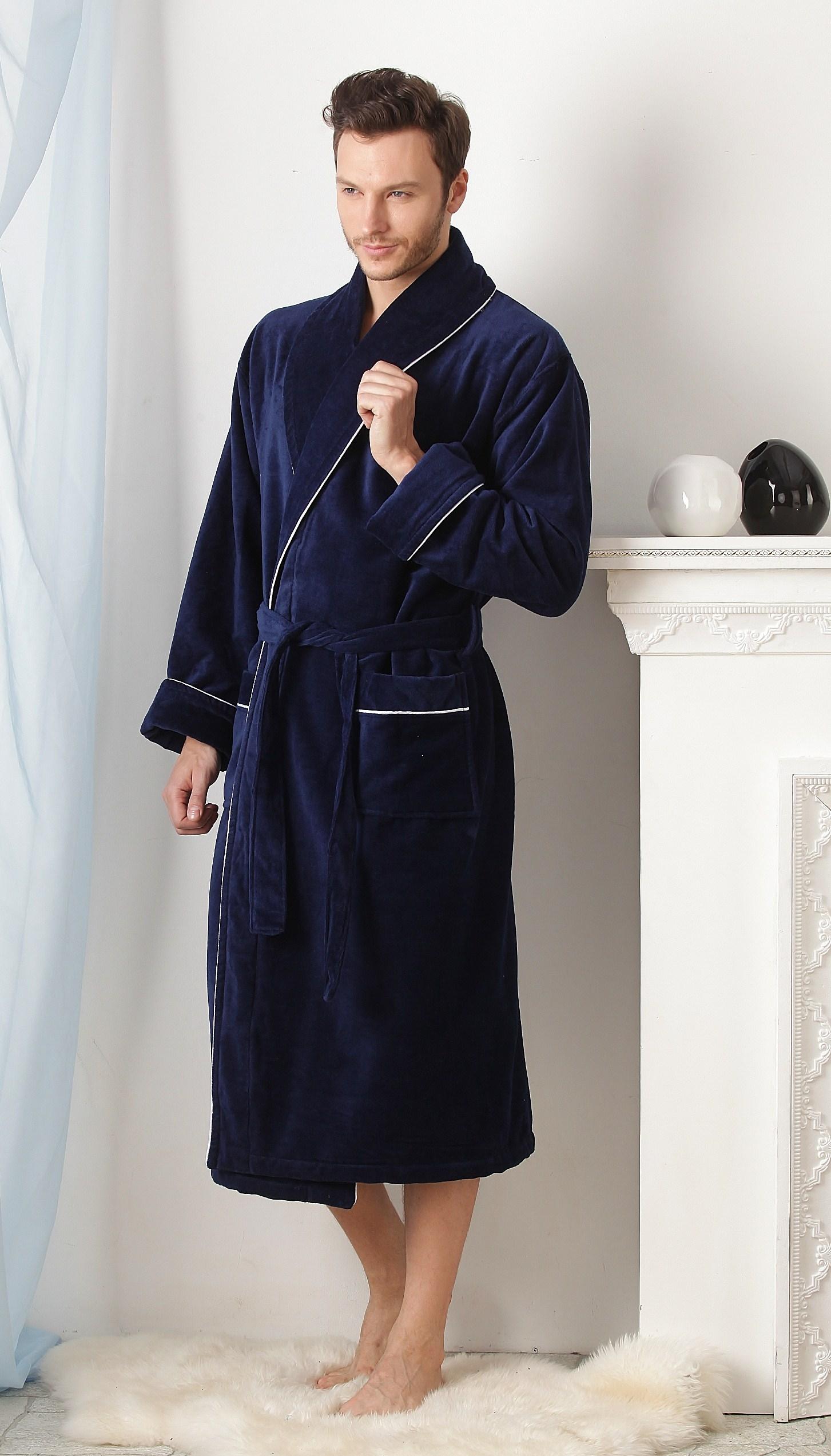 Из чего шьют махровые халаты