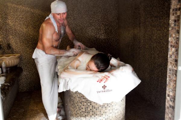 Мыльный массаж – еще один способ применения банного мыла