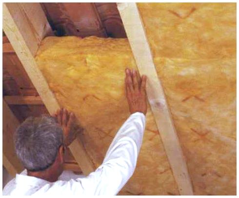 показано утепление потолка