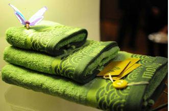 На фото – набор полотенец из сои