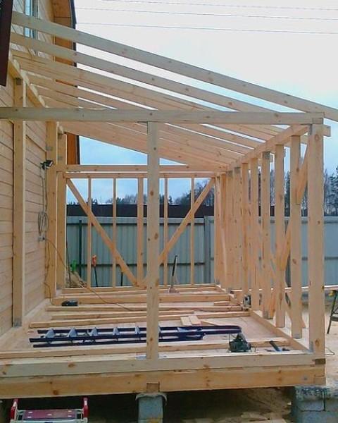 Начало строительства: фото