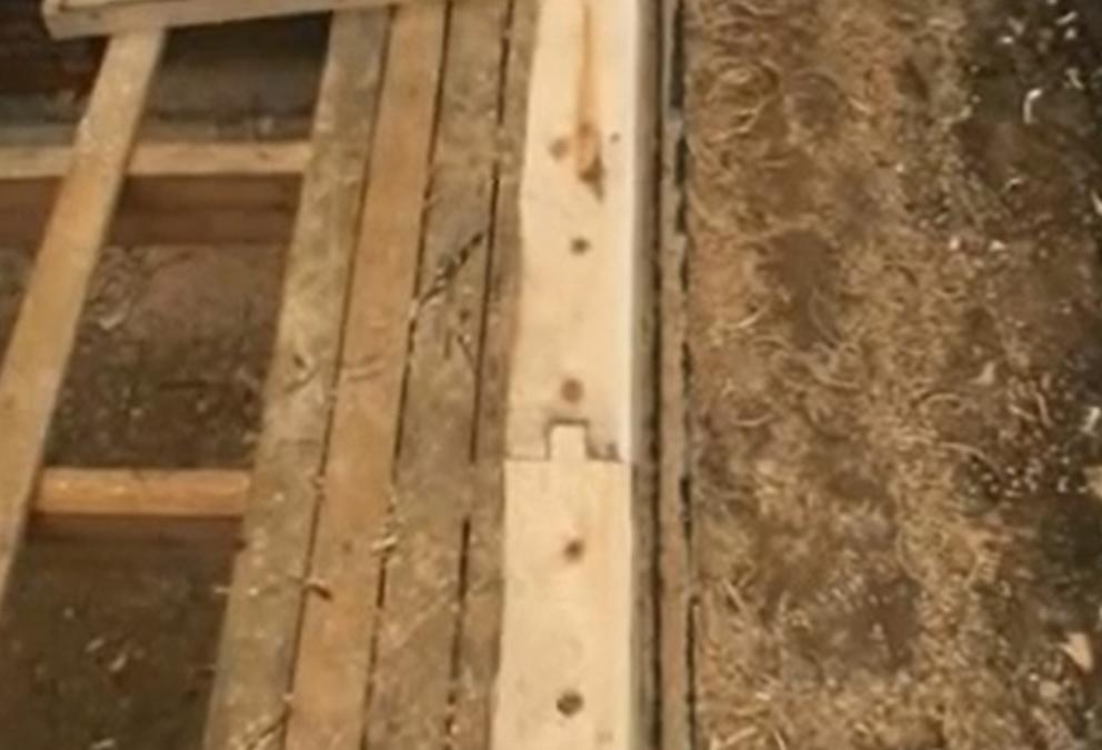 Строим пол в доме из бруса своими руками