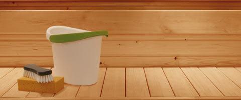 Необходимо держать все банное помещение в идеальной чистоте