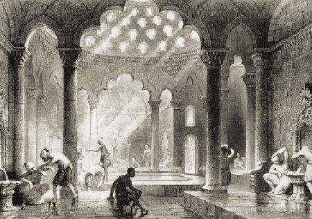 Общественная баня в Древней Греции