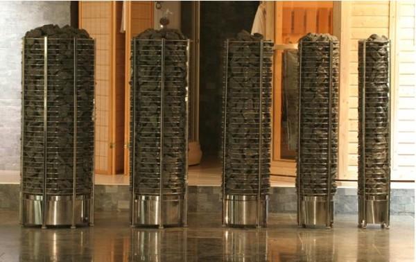 Оригинальные каменки для сауны, которые для своей работы используют электрическую энергию