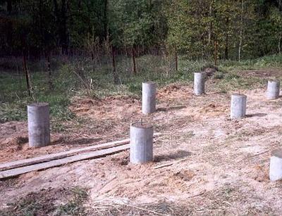 Основа – асбестовые трубы
