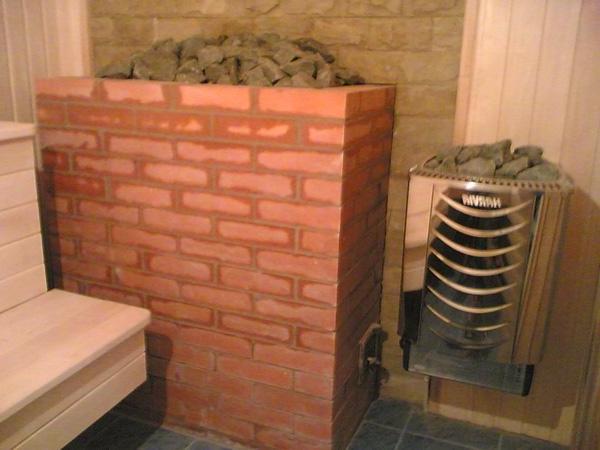 Печь-каменка для периодического отопления