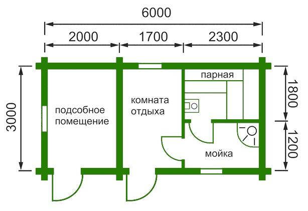 Планировка такого здания