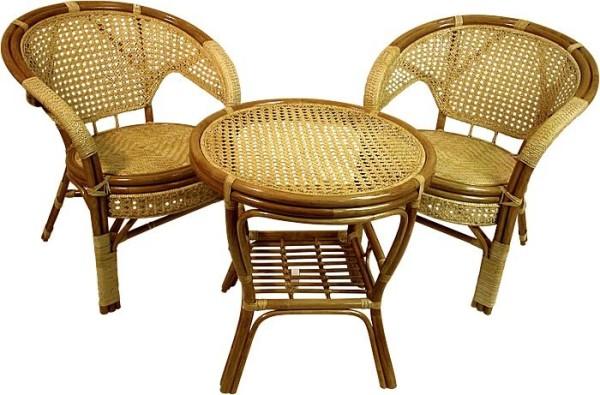 Плетеная мебель для сауны и бани