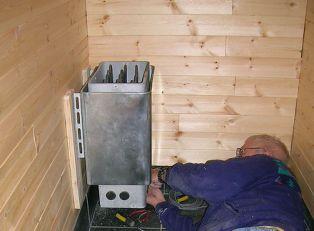 Подключение заземление электрической печки