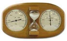 Прибор для измерения температуры и влажности в парильне