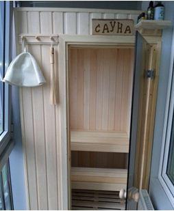 Принцип расположения кабины и стеклянная дверь