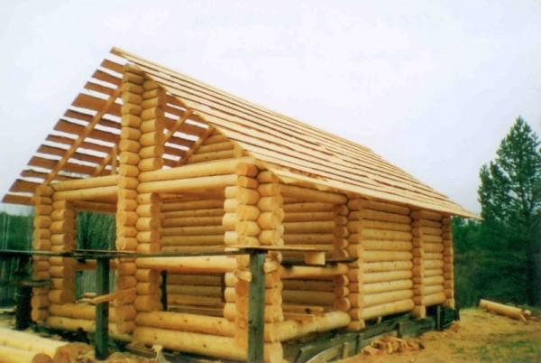 Принцип изготовления крыши с перекрытием террасы
