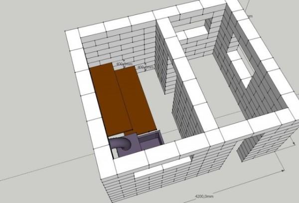 Проект кирпичного строения