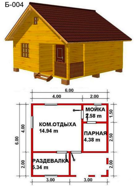 Проект строения