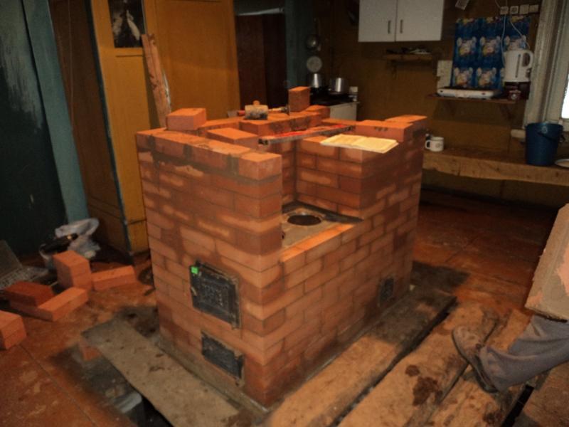 Смотреть как построить печь своими руками 94